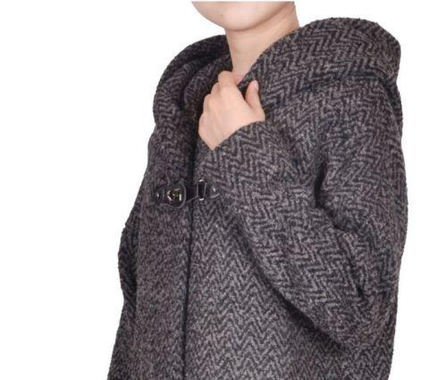 MyCollection - manteau à grande capuche