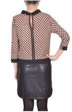 MyCollection - Robe chic cuire